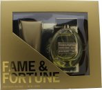 Fame & Fortune Fame & Fortune for Women Geschenkset 100ml EDT + 100ml Body Lotion