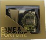 Fame & Fortune for Women Geschenkset 100ml EDT + 100ml Bodylotion