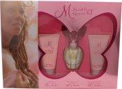 Mariah Carey Luscious Pink Geschenken 30ml EDT + 50ml Body Lotion + 50ml Douchegel