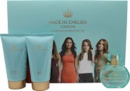 Made in Chelsea Geschenkset 50ml EDP + 150ml Douchecrème + 150ml Shimmer Lotion
