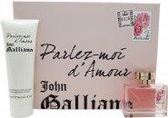 John Galliano Parlez-Moi dAmour Geschenkset 50ml EDT + 125ml Body Lotion