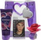 Justin Bieber Someday Geschenkset 30ml EDP + 200ml Body Lotion + Souvenir Presentatie Tas + Kleedkamer Verfrisser