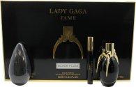 Lady Gaga Fame Geschenkset 50ml EDP + 10ml Roller + 142g Zeep
