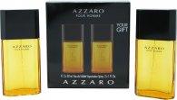 Azzaro Pour Homme Geschenkset 100ml EDT Splash + 150ml Douchegel
