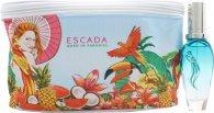 Escada Born In Paradise Geschenkset 30ml EDT Spray + Toilettas