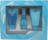 Davidoff Cool Water Geschenken 30ml EDT + 50ml Body Lotion + 50ml Douchegel