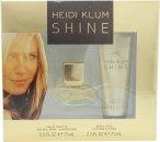 Heidi Klum Shine Geschenkset 15ml EDT + 75ml Body Lotion