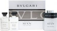 Bvlgari Man Extreme Geschenkset 3 x 15ml EDT Navulbare Spray