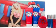 Jigsaw OMG! Loved Up Geschenkset 100ml EDT + 150ml Body Lotion + 150ml Douchegel + 3 x 20ml Handtas Spray