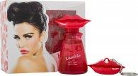 Katie Price Kissable Geschenkset 50ml EDP + Lip Gloss Bedeltje