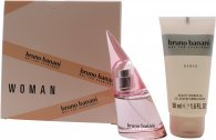 Bruno Banani Woman Geschenkset 20ml EDT + 50ml Douche Gel