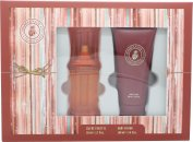 Caribbean Joe For Her by Caribbean Joe Geschenkset 50ml EDT + 100ml Body Lotion