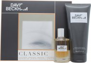 David Beckham Classic Geschenkset 40ml EDT Spray + 200ml Haar & Lichaam Wash