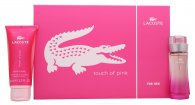 Lacoste Touch of Pink Geschenkset 30ml EDT + 100ml Body Lotion