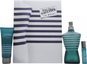 Jean Paul Gaultier Le Male Geschenkset 125ml EDT + 75ml All-Over Douchegel + 9ml Meeneem Spray