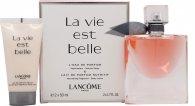Lancome La Vie Est Belle L'Eau de Parfum Geschenkset 50ml Spray + 50ml Body Lotion