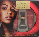Beyoncé Heat Kissed Geschenkset 30ml EDP + 75ml Bodylotion + 75ml Douchegel