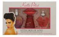 Katie Price Little Box of Love Geschenkset 30ml Besotted EDP + 30ml Kissable EDP + 30ml Precious Love EDP
