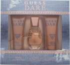 Guess Dare Geschenkset 30ml EDT + 75ml Body Lotion + 75ml Douchegel