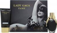 Lady Gaga Fame Geschenkset 50ml EDP + 75ml Body Lotion