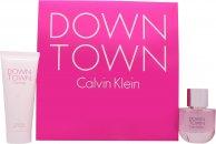 Calvin Klein Downtown Geschenkset 50ml EDP + 100ml Douchegel