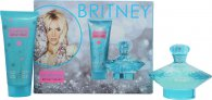 Britney Spears Curious Geschenkset 100ml EDP Spray + 100ml Body Souffle