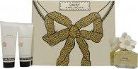Marc Jacobs Daisy Geschenkset 50ml EDT + 75ml Body Lotion + 75ml Douchegel