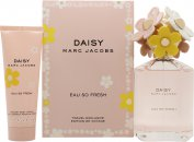 Marc Jacobs Daisy Eau So Fresh Geschenkset 125ml EDT + 75ml Body Lotion