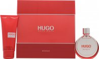 Hugo Boss Hugo Geschenkset 50ml EDP + 100ml Body Lotion