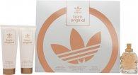 Adidas Born Original for Her Geschenkset 50ml EDP + 75ml Body Lotion + 75ml Douchegel