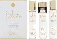 Christian Dior J'Adore Geschenkset 100ml EDP + 7.5ml Handtas Spray