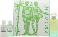 Hermes Un Jardin Sur Le Nil Geschenkset 100ml EDT + 40ml Body Lotion + 40ml Douchegel