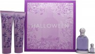 Jesus del Pozo Halloween Geschenkset 100ml EDT + 150ml Body Lotion + 150ml Douchegel + 4.5ml EDT