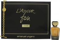 Emanuel Ungaro L'amour Fou L'Elixir Geschenkset 50ml EDP + Armband