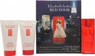 Elizabeth Arden Red Door Geschenkset 30ml EDT + 50ml Geparfumeerde Body Lotion + 50ml Bad & Douchegel