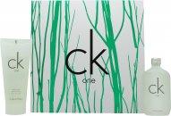 Calvin Klein CK One Geschenken 50ml EDT + 100ml Body Wash