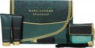 Marc Jacobs Decadence Geschenkset 100ml EDP + 75ml Body Lotion + 75ml Douchegel