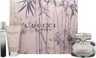 Gucci Bamboo Geschenkset 50ml EDP + 50ml Body Lotion + 7.4ml EDP