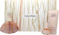 Calvin Klein Endless Euphoria Geschenkset 125ml EDP Spray + 15ml EDP + 100ml Body Lotion