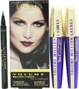 L'Oreal Volume Million Lashes So Couture Geschenkset 2 x 9ml Mascara in Zwart + Superliner Eyeliner in 001 Zwart