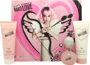 Katy Perry Mad Love Geschenkset 30ml EDP + 75ml Bodylotion + 75ml Douchegel