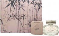 Gucci Bamboo Geschenkset 50ml EDT + 100ml Body Lotion