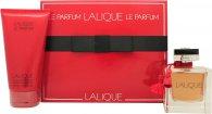 Lalique Le Parfum Geschenkset 100ml EDP + 150ml Douchegel