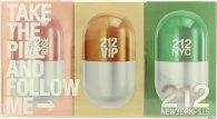 Carolina Herrera 212 Women New York Pills Geschenkset 20ml 212 Femme EDT + 20ml 212 Vip EDP + 20ml 212 Vip Rose EDP