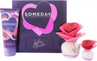 Justin Bieber Someday Geschenkset 50ml EDP + 100ml Bodylotion + 7.4ml Mini