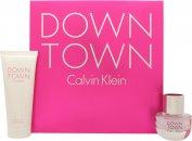 Calvin Klein Downtown Geschenkset 30ml EDP + 100ml Douchegel
