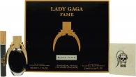 Lady Gaga Fame Geschenkset 50ml EDP + 10ml Roller + Tattoo