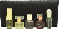 Estee Lauder Mini Geschenkset 4ml Pleasures + 4ml Moderne Muse + 4.7ml Beautiful + 4ml Sensuous Nude + 4ml Pure White Linen + Cosmetica Tas