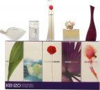 Kenzo Miniatures for Women Geschenkset 5ml L'eau Par EDT Splash + 4ml Amour EDP Splash + 3.5ml Parfum d'Ete EDP Splash + 4ml Flower EDP Splash + 5ml Jungle EDP Splash