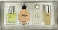 Calvin Klein Miniatuur Geschenkset 15ml Eternity EDT + 15ml Obsession EDT + 15ml CK One EDT + 15ml Escape EDT